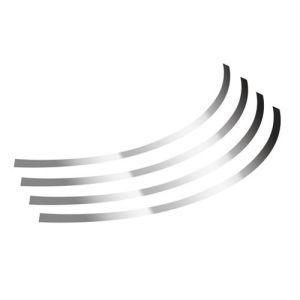 "Lampa Διακοσμητικά Αυτοκόλλητα Ζάντας Πλαστικά - Χρώμιου 17''-18''-19'' -20"""
