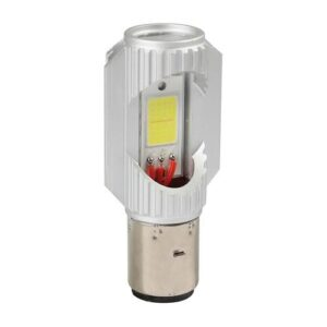 Lampa S2 9>32V 35/35W BA20d 2SMDx12chips 680lm (ΔΙΠΛΗΣ ΠΟΛΙΚΟΤΗΤΑΣ- CAN-BUS) MEGA LED 1ΤΕΜ. ΚΟΥΤΙ