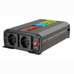 Lampa INVERTER 24V>220-240W max1500-peak3000W