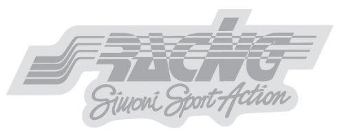 Simoni Racing ΑΥΤΟΚΟΛΛΗΤΟ RACING ΑΣΗΜΙ