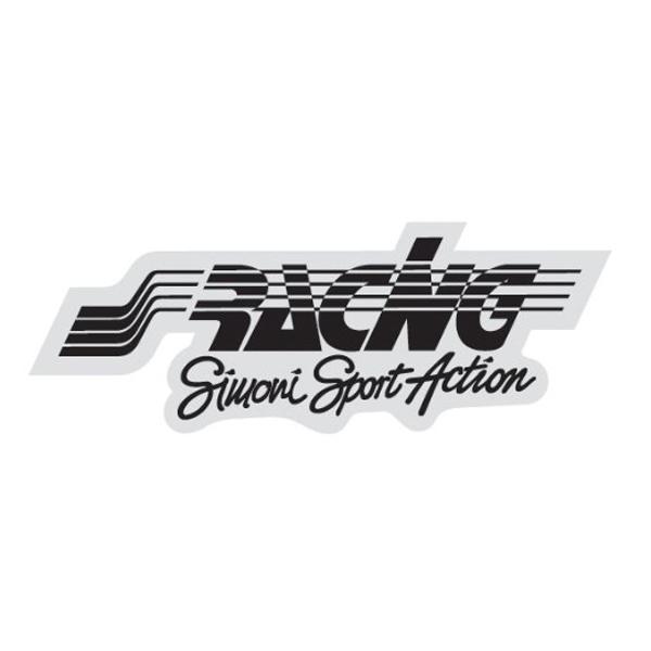 Simoni Racing ΑΥΤΟΚΟΛΛΗΤΟ RACING ΜΑΥΡΟ