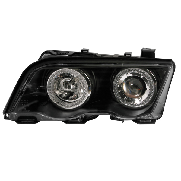 "Lampa BMW E46 4D""98->BLACK Χ.ΦΛΑΣ"