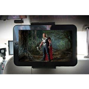 Xenomix XENOMIX Βάση Στήριξης Tablet Προσκέφαλου Μαύρη SHG-HR100