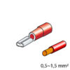 Lampa ΦΙΣΑΚΙΑ 2.8 x 0.5mm (12τμχ.)