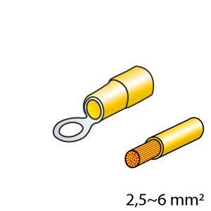 ΦΙΣΑΚΙΑ (ΚΙΤΡΙΝΟ - 5mm) - 10 ΤΕΜ. - Mixeshop.gr