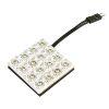 Lampa ΠΛΑΦΟΝΙΕΡΑ ΜΕ 16 LED (35x35mm)