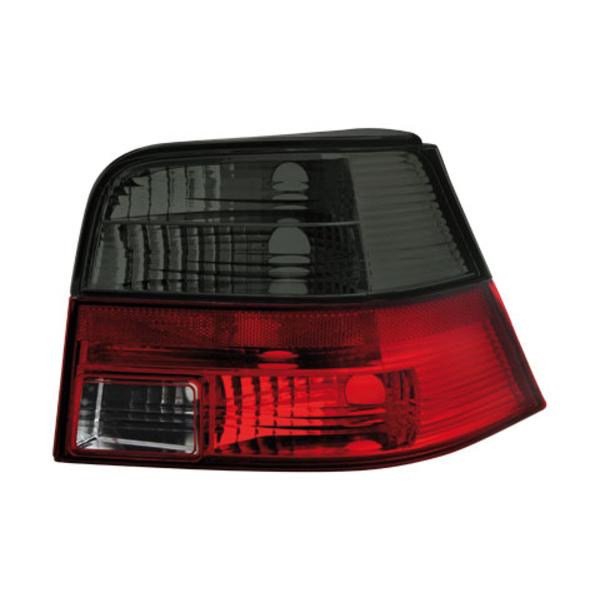 Dectane Φανάρια Πισινά για DECTANE VW Golf IV 97-04 (Κόκκινο/Φιμέ)