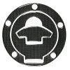 Lampa ΑΥΤΟΚΟΛΛΗΤΟ ΤΑΠΑΣ ΒΕΝΖΙΝΗΣ ΓΙΑ ΜΗΧΑΝΗ DUCATI CARBON (5 ΤΡΥΠΕΣ)