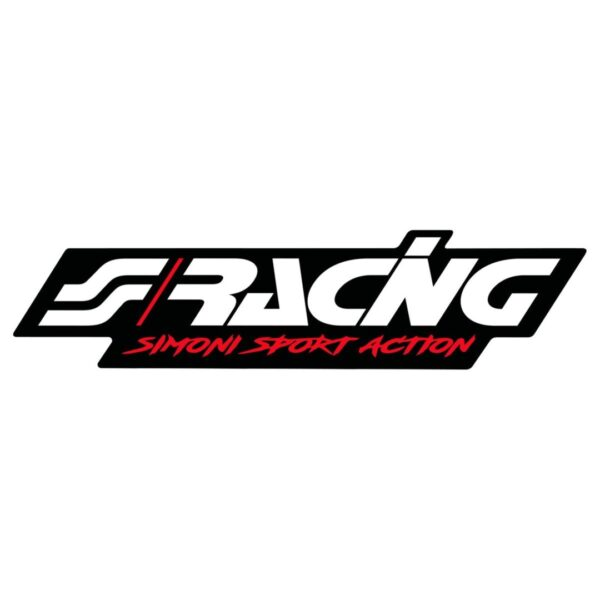 Simoni Racing ΑΥΤΟΚΟΛΛΗΤΟ ''SIMONI RACING LOGO STICKER'' 120x29mm 1ΤΕΜ.