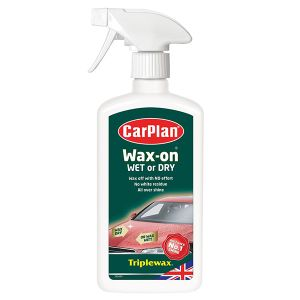 CarPlan ΓΥΑΛΙΣΤΙΚΟ ΥΓΡΟ CARPLAN WAX-ON WET OR DRY 500ML