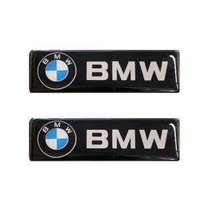 Race Axion BMW ΣΗΜΑΤΑ ΒΙΔΩΤΑ 10 Χ 3 cm ΕΠΟΞΕΙΔΙΚΗΣ ΡΥΤΙΝΗΣ (ΥΓΡΟ ΓΥΑΛΙ) ΣΕ ΜΑΥΡΟ/ΧΡΩΜΙΟ ΓΙΑ ΠΑΤΑΚΙΑ - 2 ΤΕΜ.