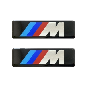 Race Axion M (BMW) ΣΗΜΑΤΑ ΒΙΔΩΤΑ 10 Χ 3 cm ΕΠΟΞΕΙΔΙΚΗΣ ΡΥΤΙΝΗΣ (ΥΓΡΟ ΓΥΑΛΙ) ΣΕ ΜΑΥΡΟ/ΧΡΩΜΙΟ ΓΙΑ ΠΑΤΑΚΙΑ - 2 ΤΕΜ.