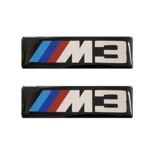 Race Axion M3 (BMW) ΣΗΜΑΤΑ ΒΙΔΩΤΑ 10 Χ 3 cm ΕΠΟΞΕΙΔΙΚΗΣ ΡΥΤΙΝΗΣ (ΥΓΡΟ ΓΥΑΛΙ) ΣΕ ΜΑΥΡΟ/ΧΡΩΜΙΟ ΓΙΑ ΠΑΤΑΚΙΑ - 2 ΤΕΜ.