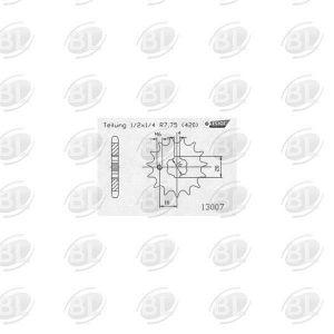 ΓΡΑΝΑΖΙΑ ΚΙΝ E13007-13(560) YMH 50 DTR       ESJOT - (ΓΕΡ) - Mixeshop.gr