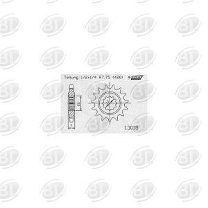 ΓΡΑΝΑΖΙΑ ΚΙΝ E13018-14(1120) YMH 50 DTR      ESJOT - (ΓΕΡ) - Mixeshop.gr