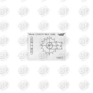 ΓΡΑΝΑΖΙΑ ΚΙΝ E15017-14(426) SZK 125 GS       ESJOT - (ΓΕΡ) - Mixeshop.gr