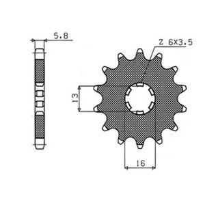 ΓΡΑΝΑΖΙΑ ΚΙΝ S101-15(563)                 SUNSTAR - (ΙΑΠ) - Mixeshop.gr