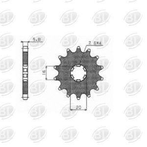ΓΡΑΝΑΖΙΑ ΚΙΝ S104-14(560)                 SUNSTAR - (ΙΑΠ) - Mixeshop.gr