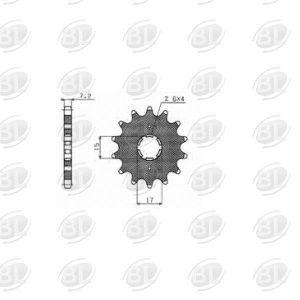 ΓΡΑΝΑΖΙΑ ΚΙΝ S202-14(274) SUNSTAR HND GRAND-X 110(428)